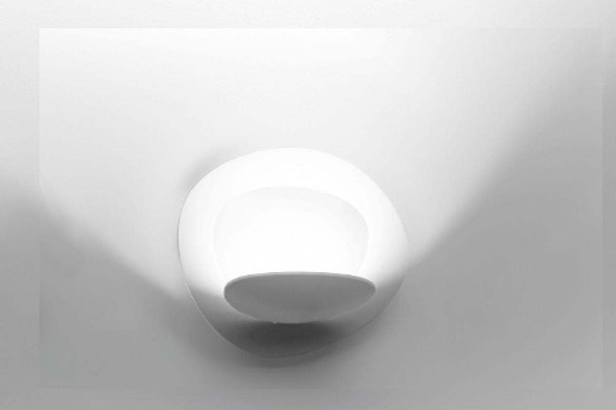 Artemide pirce micro applique led w nero a lámparas de
