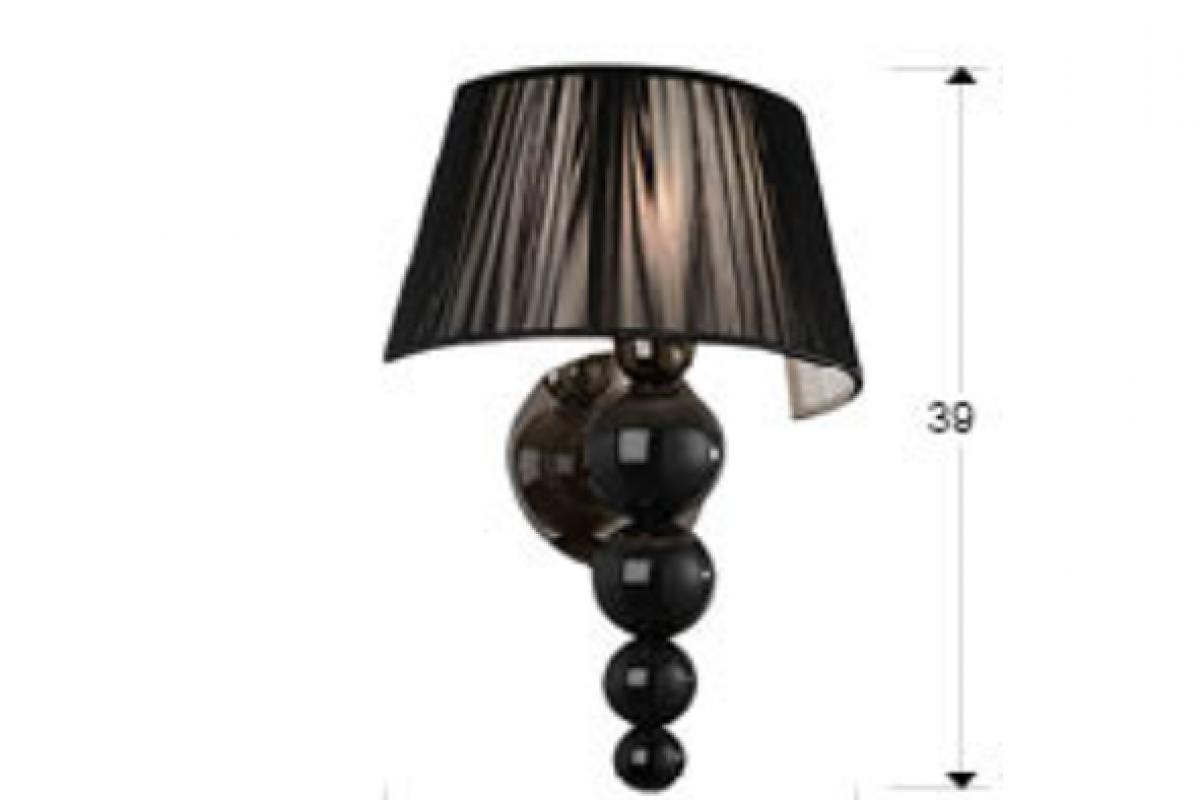 Schuller mercury applique 39x28cm 1xe27 led 5 5w 663687 lámparas