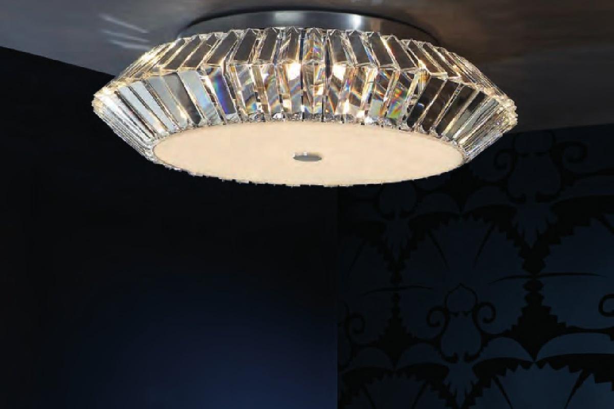 Schuller eos plaf n grande 9l cromo cristal 507332 - Lamparas schuller ...