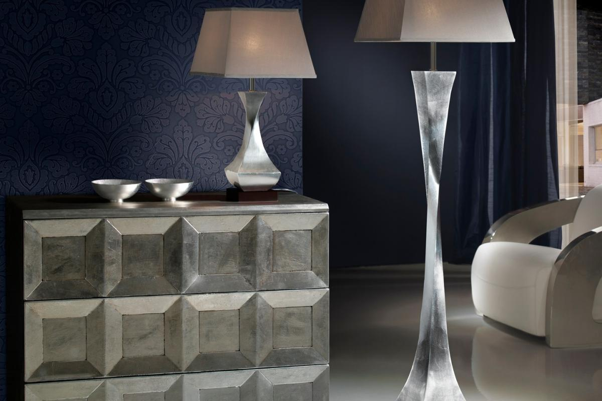 Schuller Deco Lampada da tavolo Foglia di 661554-7432 - Lámparas de ...