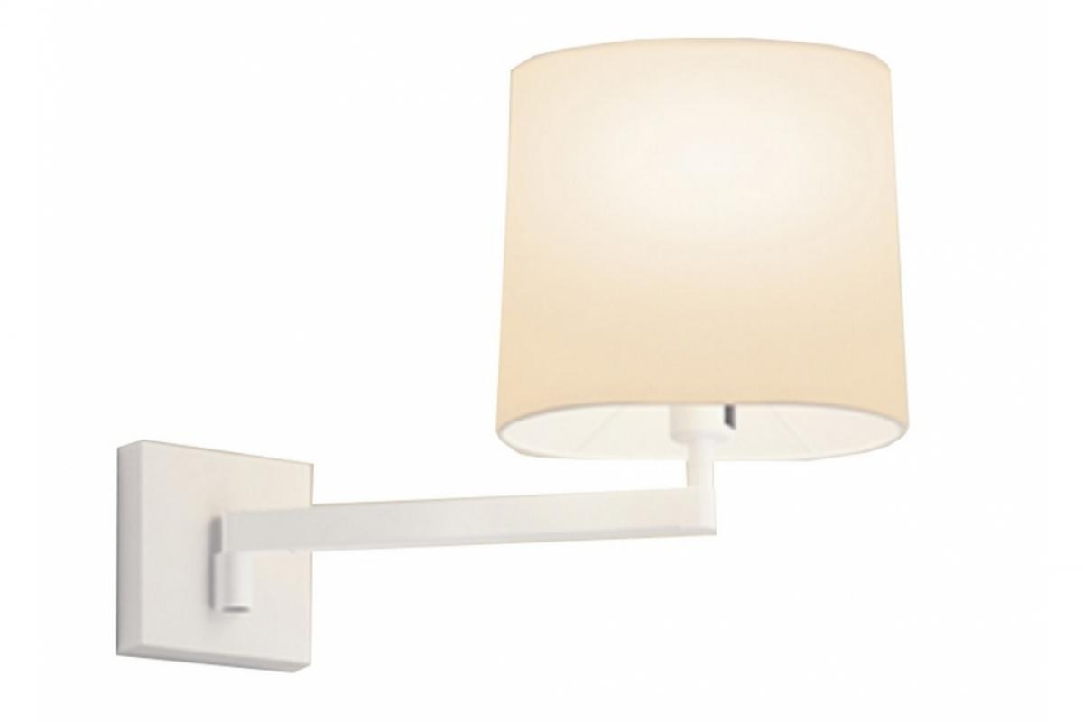 Vibia swing applique con paralume crema 0509 93 lámparas de diseño