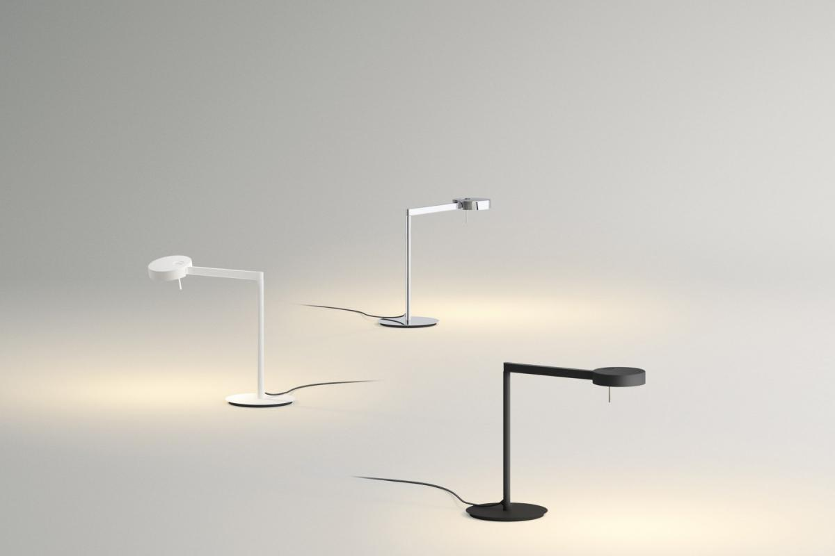Vibia swing applique con paralume crema luce 0514 18 lámparas de