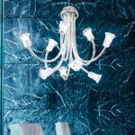 599 L9 lamp Pendant Lamp Chrome Glass