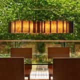 Vento Lámpara Colgante Grande LED 23,6W regulable Vidrio
