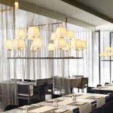 Lámpara XVIII (Accessory) lampshade cónica Cinta translucent wh