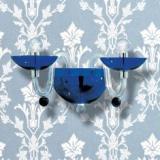 DANIELI P Wall Lamp BLU/CROMO