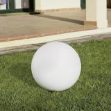 Cisne Lamp of Outdoor ø30cm 1xE27 / 1 x PL elect E27 white