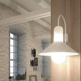Tagomago Applique pequeño 1xE14 LED 5W - Laqué blanc