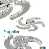 Propeller 9726 26CC Cromo
