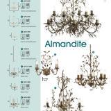 Almandite 24912 12BR Marrón
