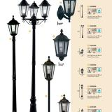 Alex Wall Lamp 1xE27 100w Black