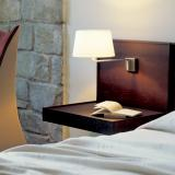 Americana (Structure) Applique de mur E27 1x11w Nickel Satin