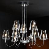 Silva Pendant Lamp G9 9x42W bright chrome