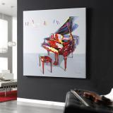 Partitura Cuadro acrylic 120x120cm
