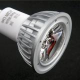 Lámpara LED GU10 dichroic Series MG Aluminium óptica Transparen