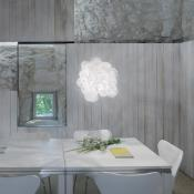 Blum Aplique/Plafón blanco E26