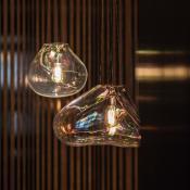 Bolla Accesorio Difusor 33cm Cristal Iridiscente