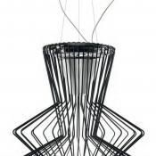 Allegro Ritmico Pendant Lamp ø75cm Black