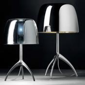 Lumiere 25TH Table Lamp pequeña - Aluminium