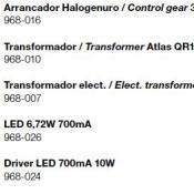 Atlas (accesorio) transformador electrónico 60W 1