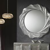 Gaudi espejo Redondo 97x97cm - Pan de Plata