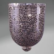 Accesorio tulipa Mosaico Cristal negro Grande