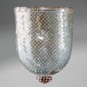 Accesorio tulipa Mosaico Cristal Aqua Grande