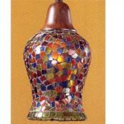 Accesorio tulipa Mosaico Cristal Varios Colores