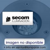 EUROCOM NEGRO DOS LAMPARAS 2X60W QR-111+EQUIPO+LAMPARAS+ANGULO APERTURA 04º