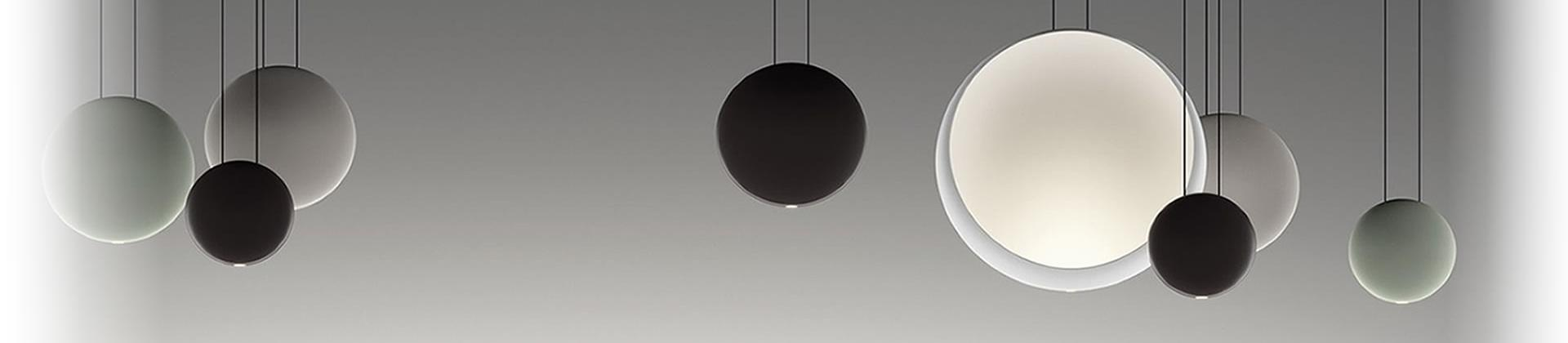 Funnel design lamps by Vibia