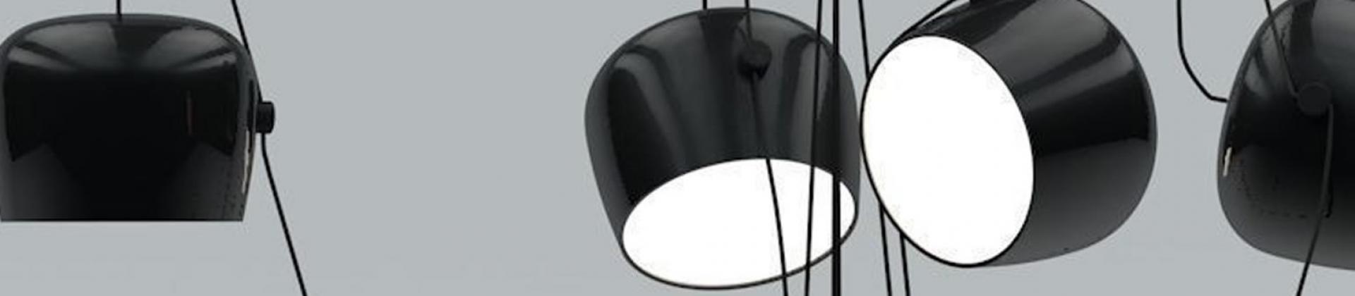Parentesi design lamps by Flos