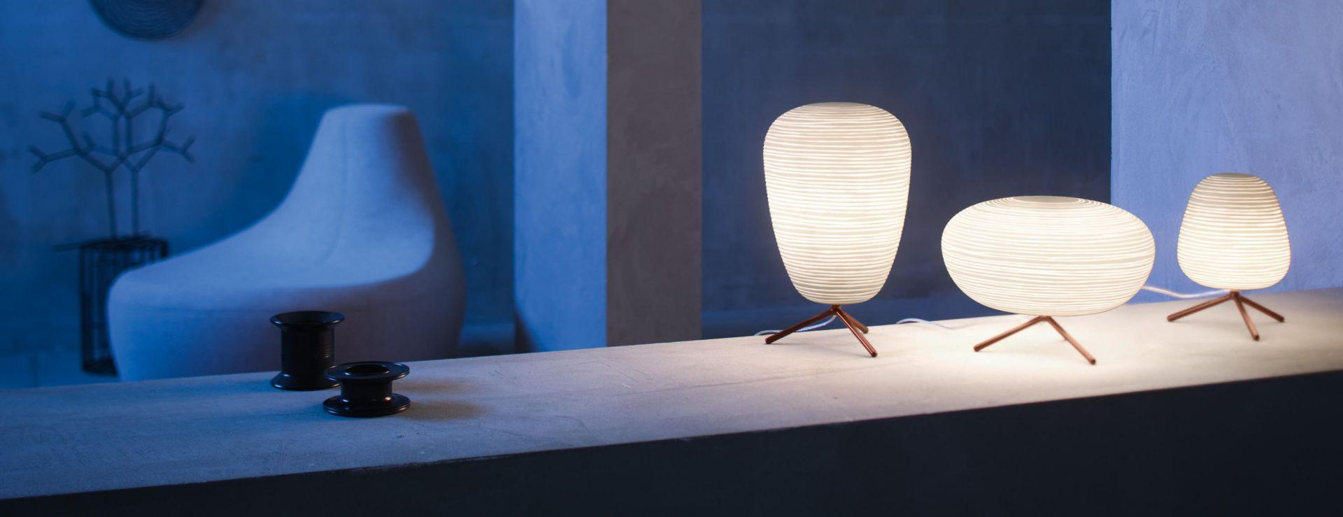 Rituals 2 Lampada da tavolo E27 1x15w bianco