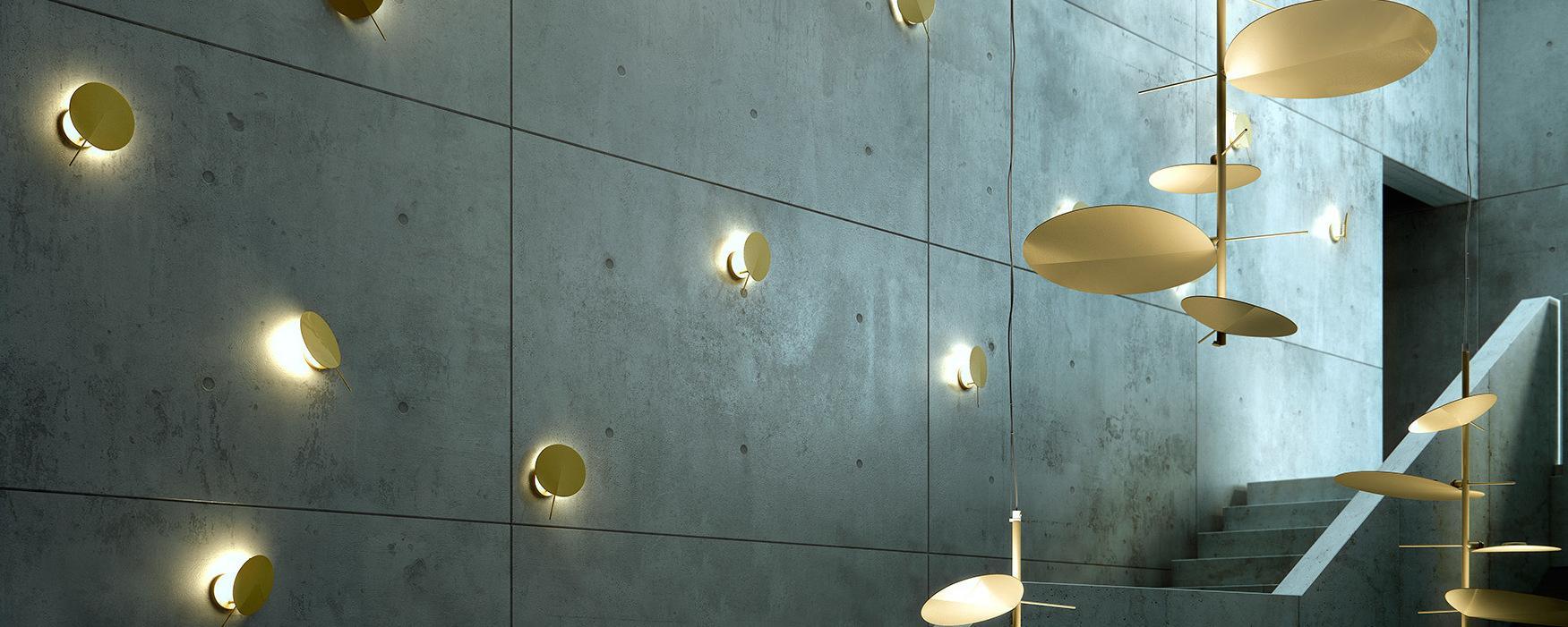 OBS a 3220 luz de parede ø20cm G9 48w Cromo