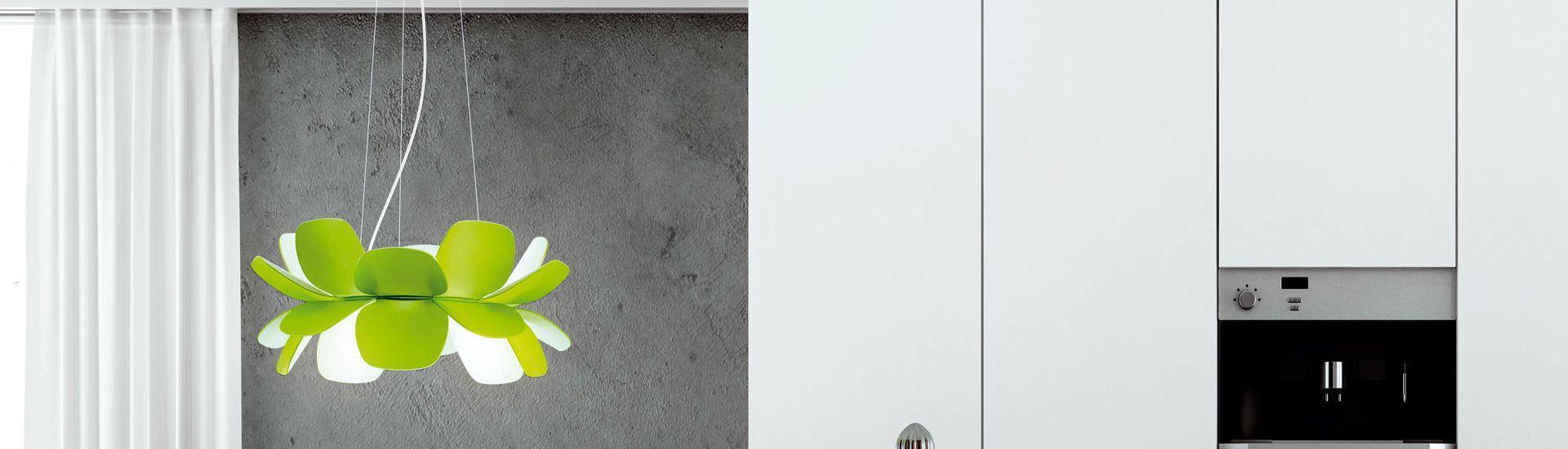 Infiore T 5805 Lámpara Colgante ECO 120W Verde