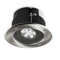 Gea Empotrable Techo acero Inoxidable 9xLED Philip