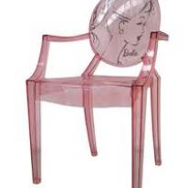 Silla Louis Ghost Barbie de Kartell