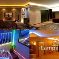 LEDs versus halogenuros