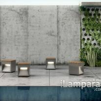 B.Lux y el banco Lap Bench diseñado por David Abad