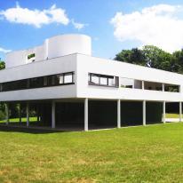 Villa Saboye, lo importante es la luz