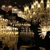 Lladró presenta su nueva colección de lámparas en Hábitat Valencia