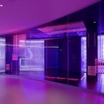 Iluminación de espacios comerciales: Ibm Software Executive Briefing Center