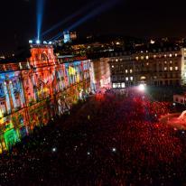 Fête des lumières, festival de luces en Lyon