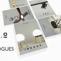 Nuevos catálogos en lámparas de diseño Faro 2017
