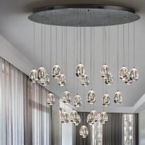 Schuller Rocio, lámpara colgante elegante y sofisticada