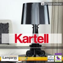 Kartell Bourgie, decorativa lámpara barroca