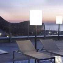 ARES ilumina las terrazas del Hotel Pullman Barcelona Skipper