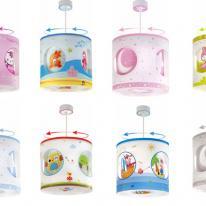 Dalber decora la habitación infantil con lamparitas de dibujos animados
