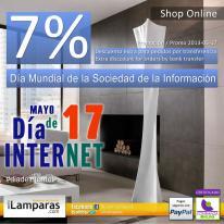 #DiadeInternet en iLamparas.com