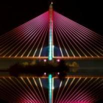 Philips,Iluminación del Puente Real, Badajoz