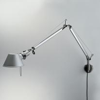 Artemide - Tolomeo parete cuerpo lámpara incandescente: aluminio